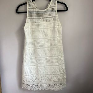 White dress from Abercrombie and Fitch